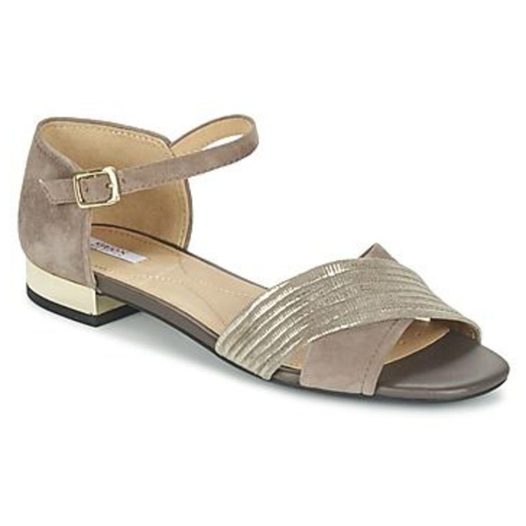 Geox  D WISTREY SAND B  women's Sandals in Grey