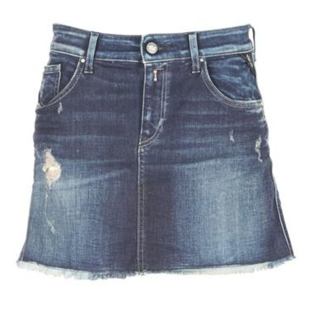 Replay  WOOPWOOP  women's Skirt in Blue