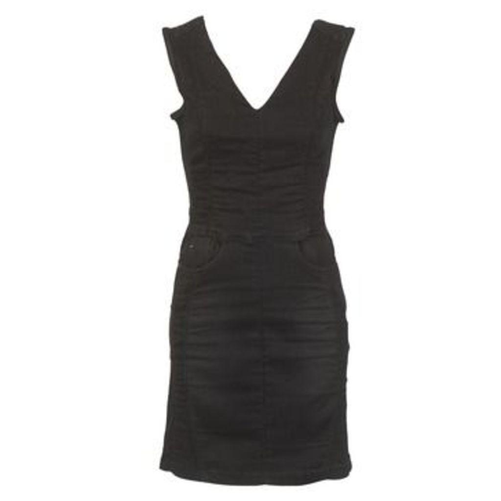 G-Star Raw  LYNN ZIP GRIP  women's Dress in Black