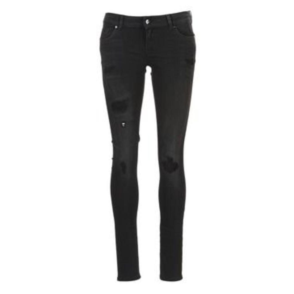 Kaporal  LOKA  women's Skinny Jeans in Black