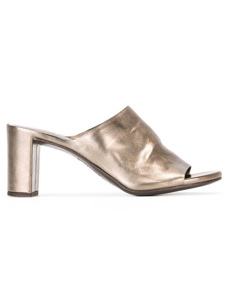 Roberto Del Carlo Pirite mules, Women's, Size: 40, Grey