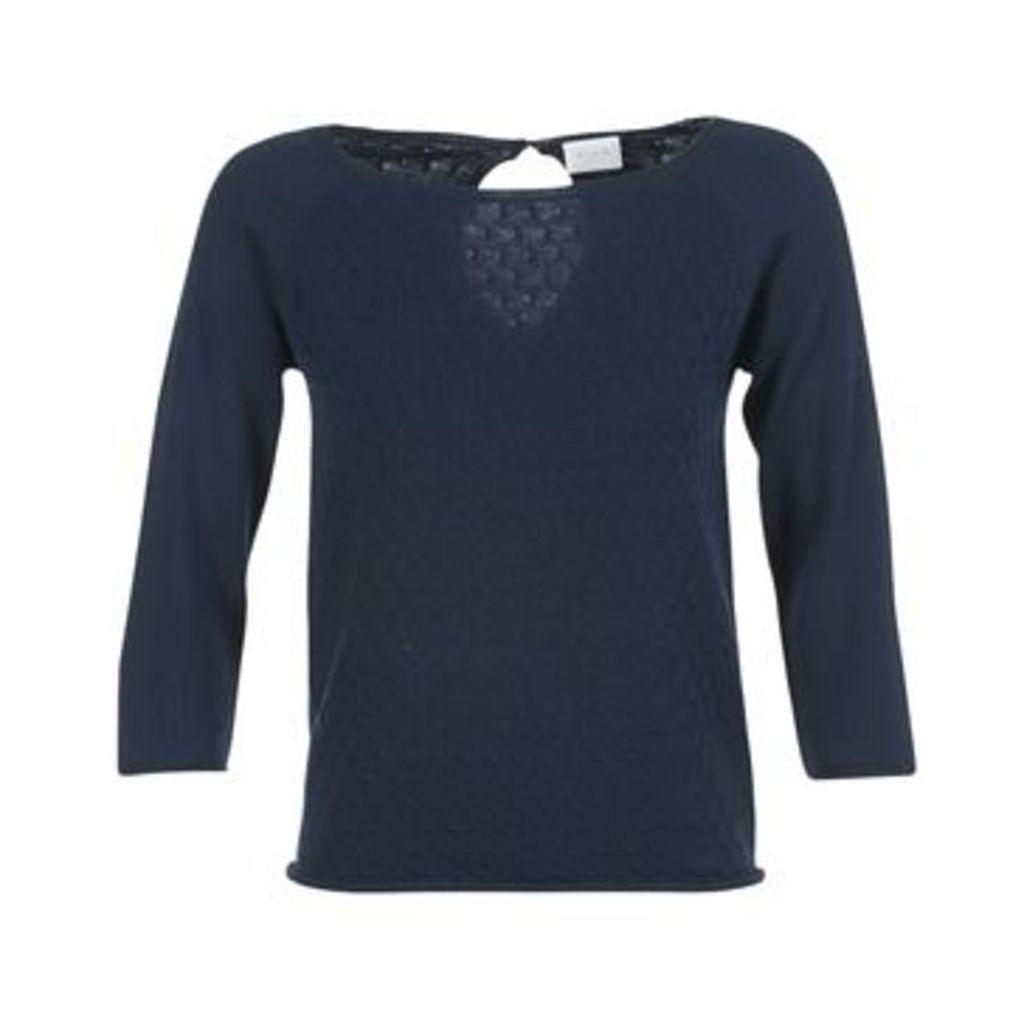 Vila  VICOTANA  women's Sweater in Blue