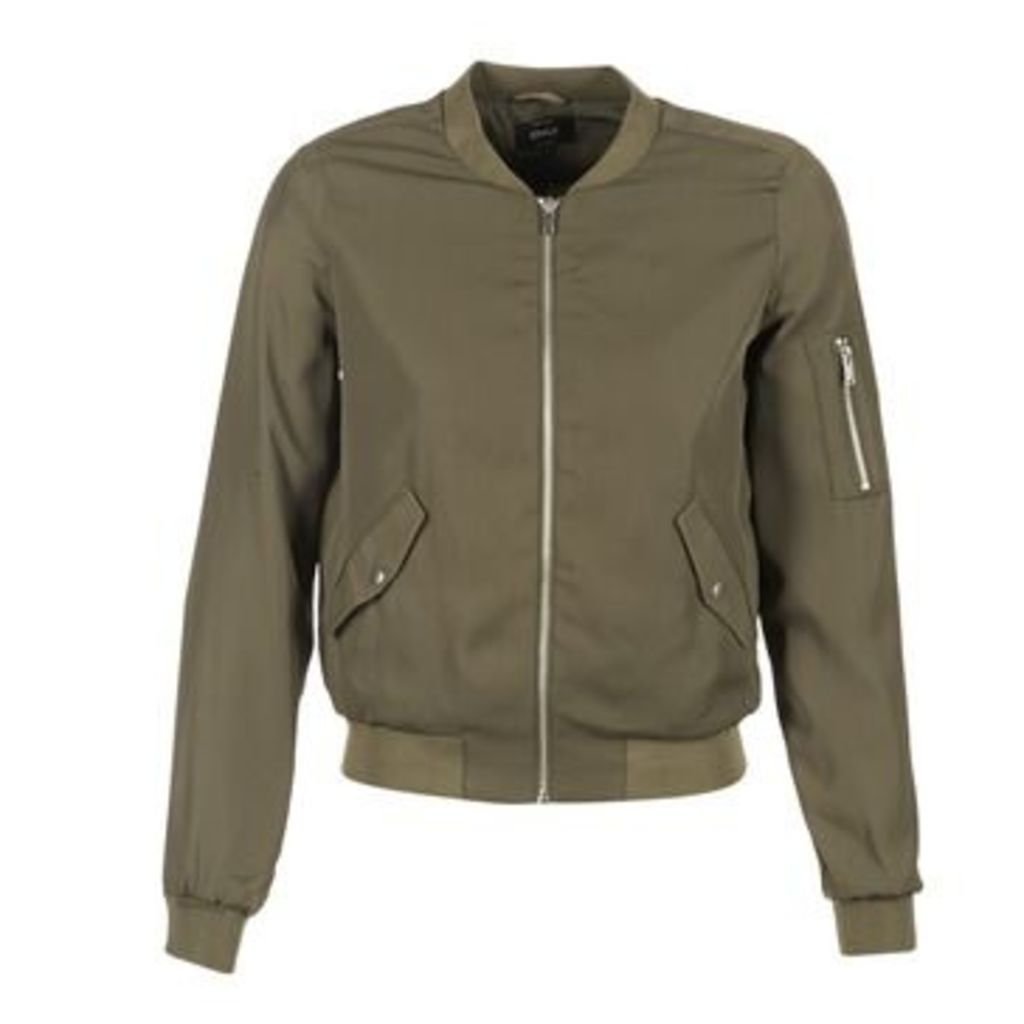Only  QUICK BOMBER  women's Jacket in Green