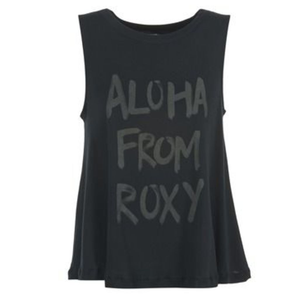 Roxy  AZTECALOHA  women's Vest top in Black