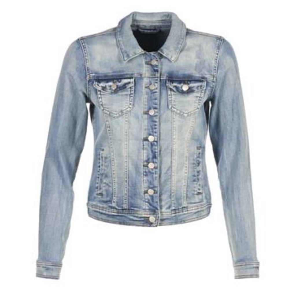 Vila  VIKILLER  women's Denim jacket in Blue