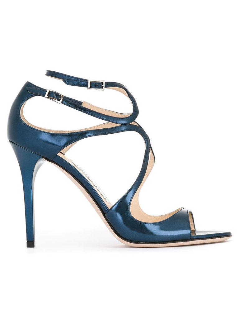 Jimmy Choo Lang sandals, Women's, Size: 38.5, Blue