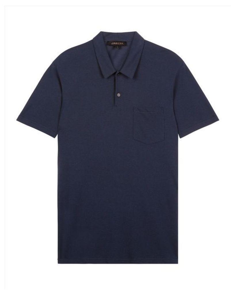 Jersey Pique Polo Shirt