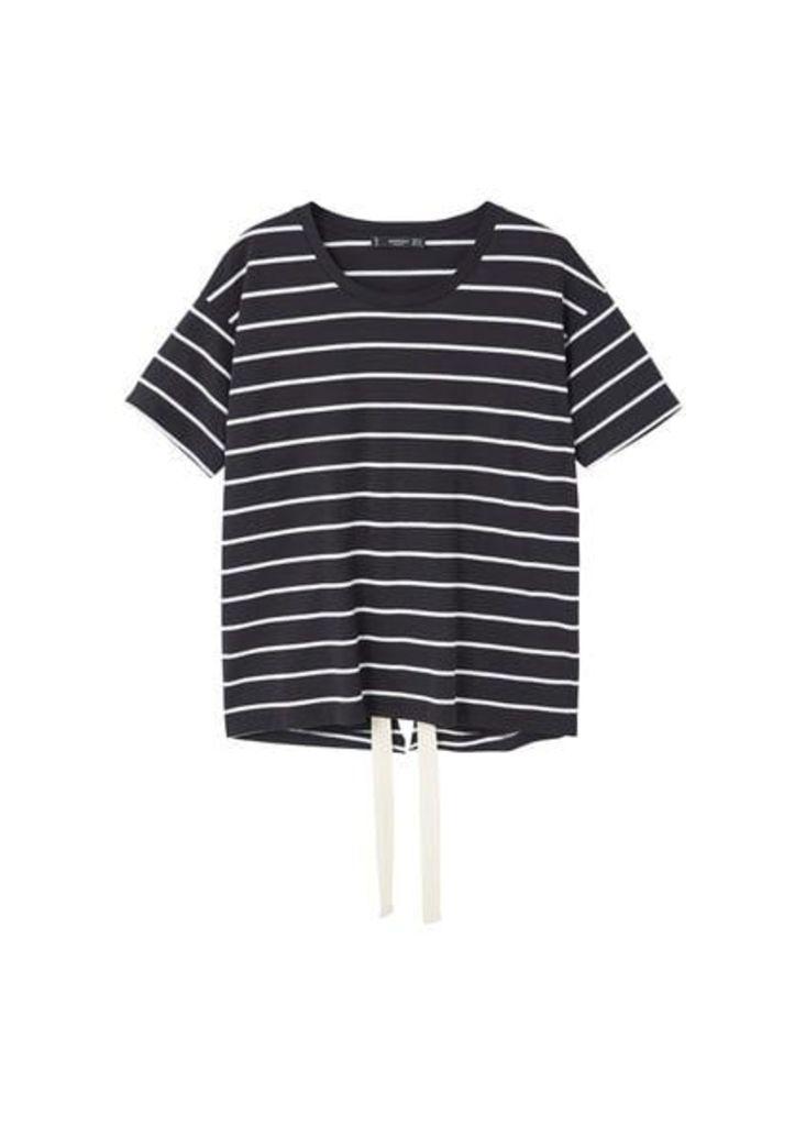 Bow cotton t-shirt