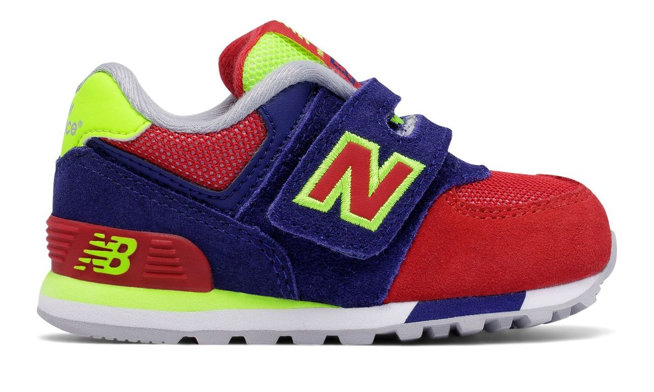 New Balance 574 Hook and Loop Cut and Paste Unisex Infant KV574WII