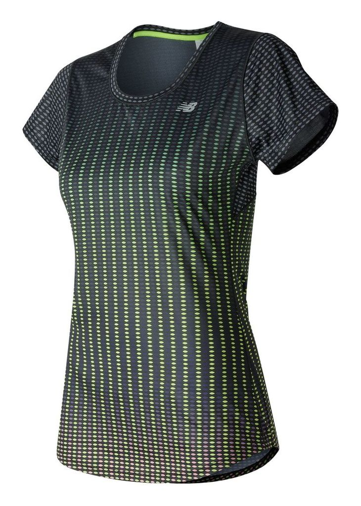 New Balance Accelerate Short Sleeve Graphic Women's Performance WT53162PDO