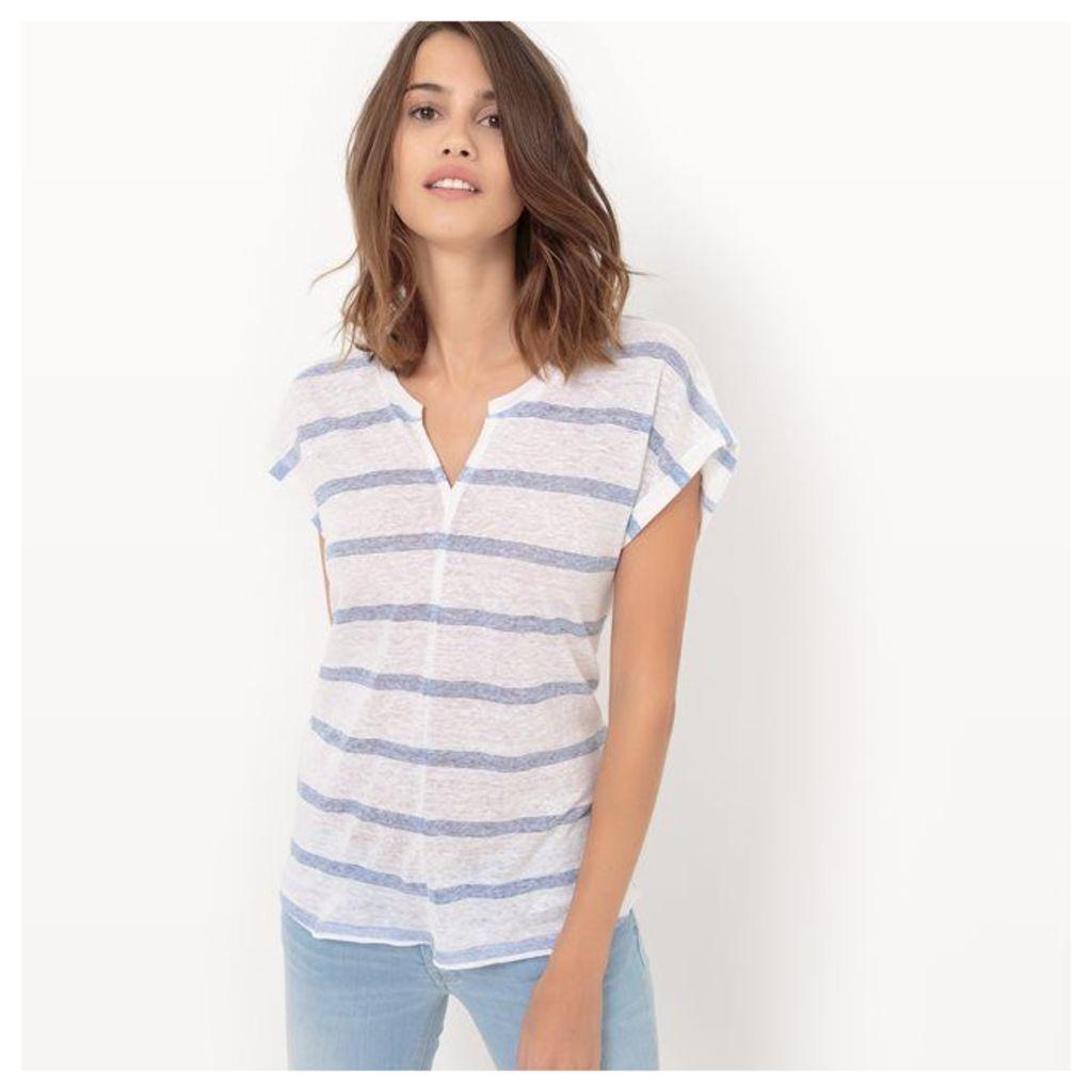 Short-Sleeved Striped T-Shirt