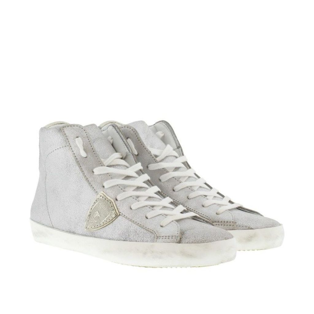 Philippe Model Sneakers - Classic H D Mixage Sneaker Sky/Silver - in silver - Sneakers for ladies