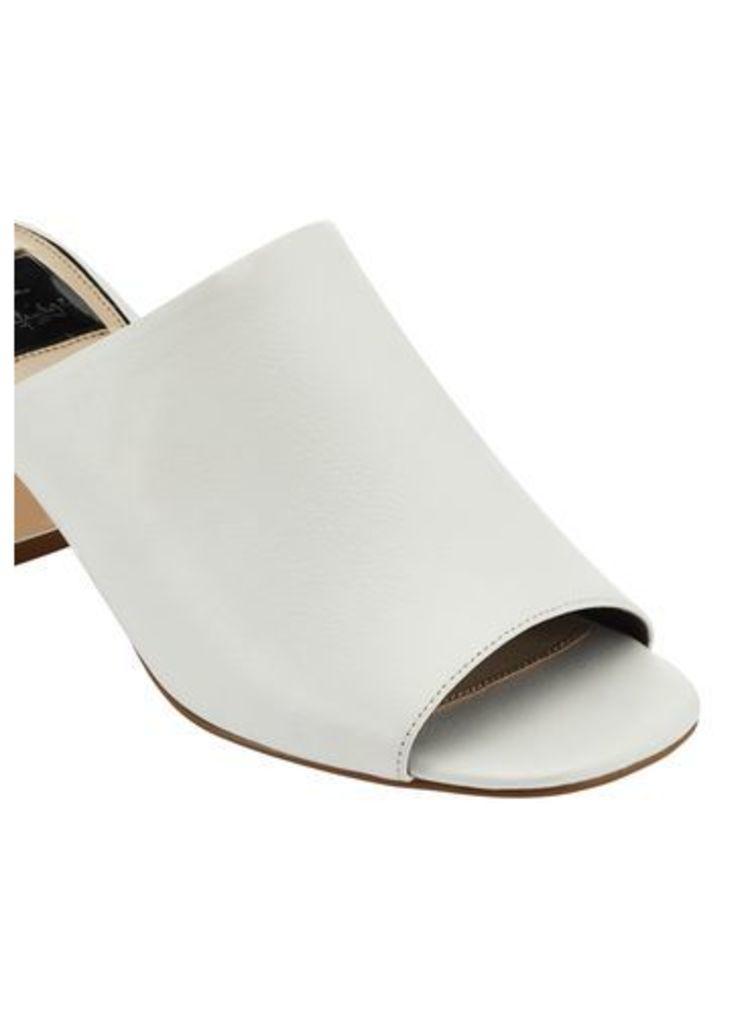 Womens CODY Mule Sandals, White