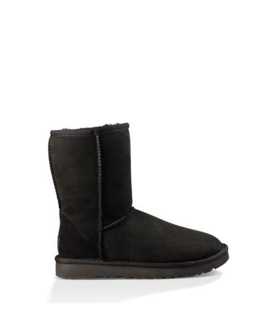 UGG Classic Short Ii Womens Classic Boots Black 9