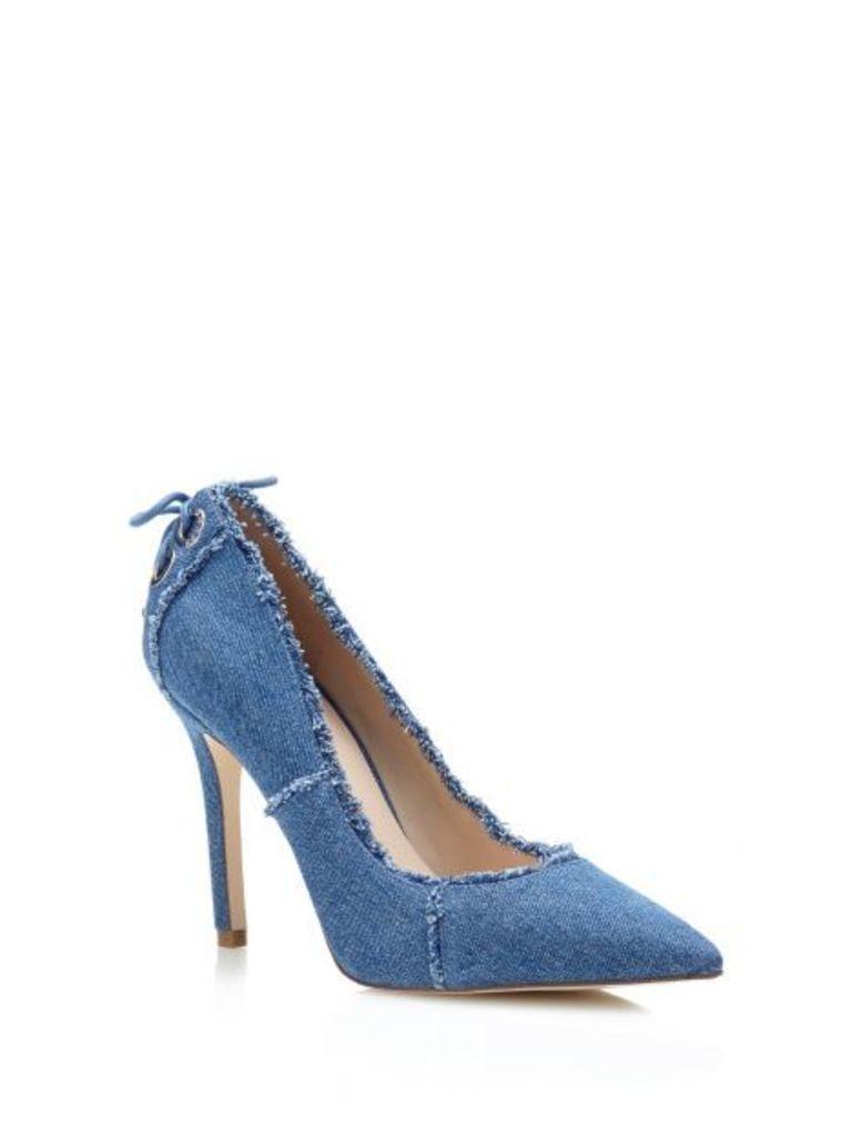 Guess Bristol Denim Court Shoe