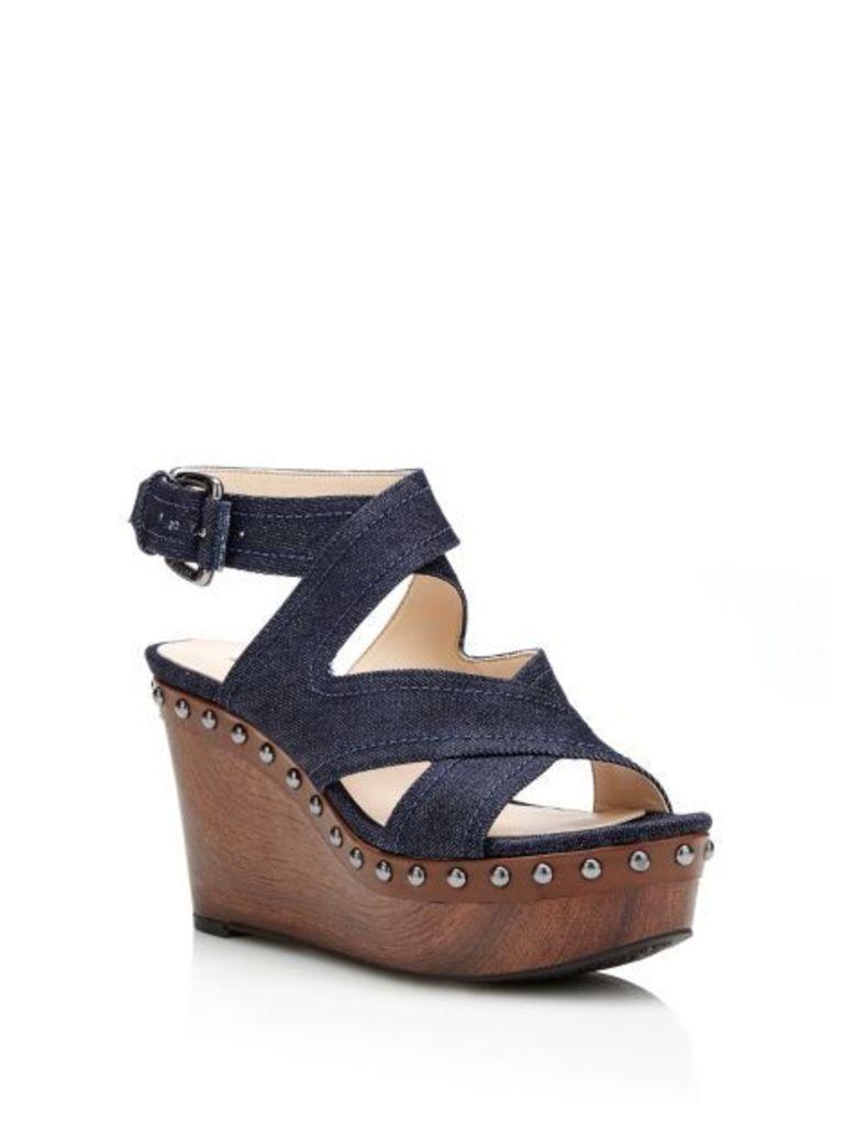Guess Darley Denim Wedge Sandal