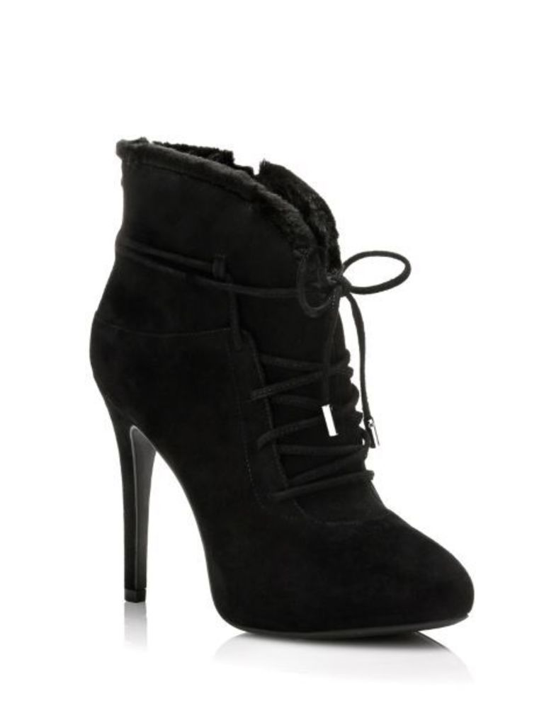 Guess Sidelia Suede Ankle Boot