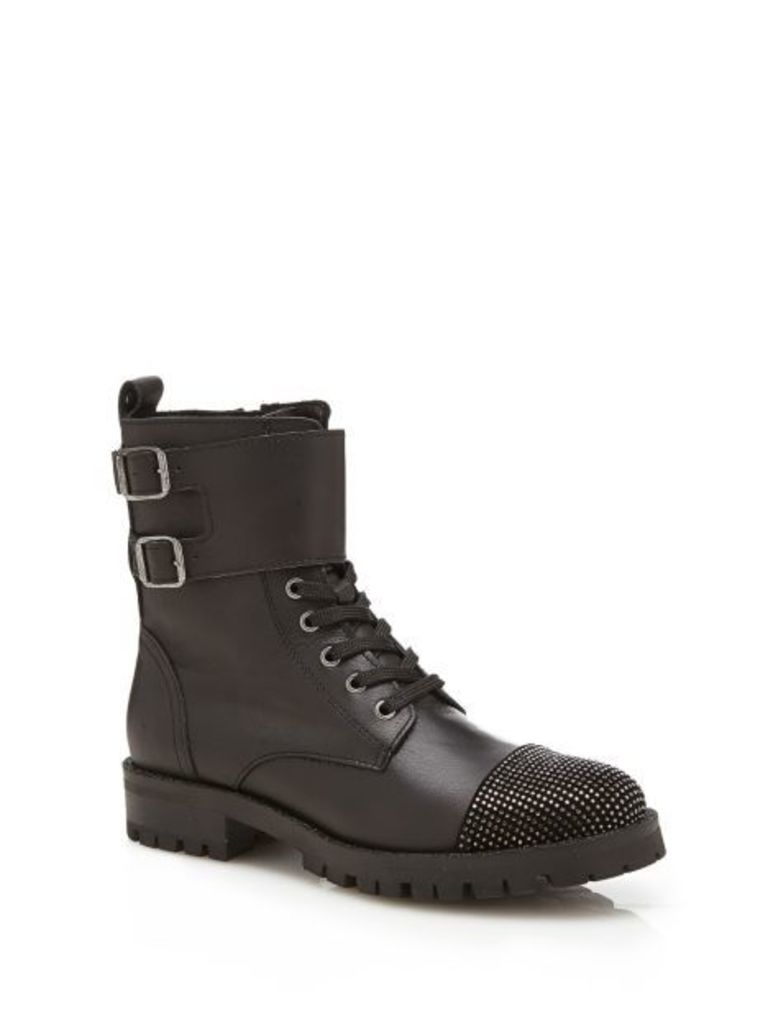 Guess Marhia Leather Low Boot