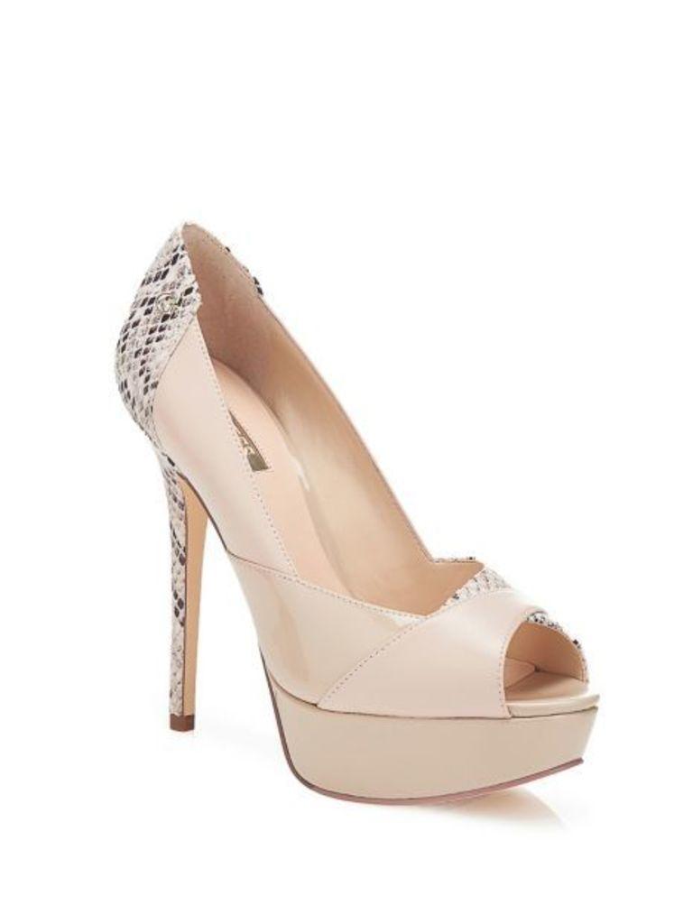 Guess Reba Court Open-Toe Shoe