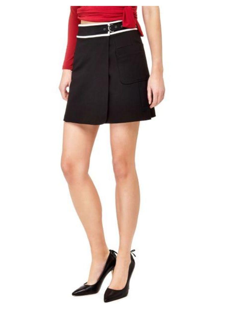 Guess Marciano Cotton Blend Skirt
