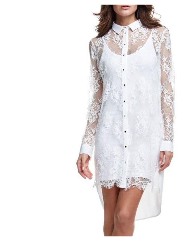 Guess Lace Chemise Dress