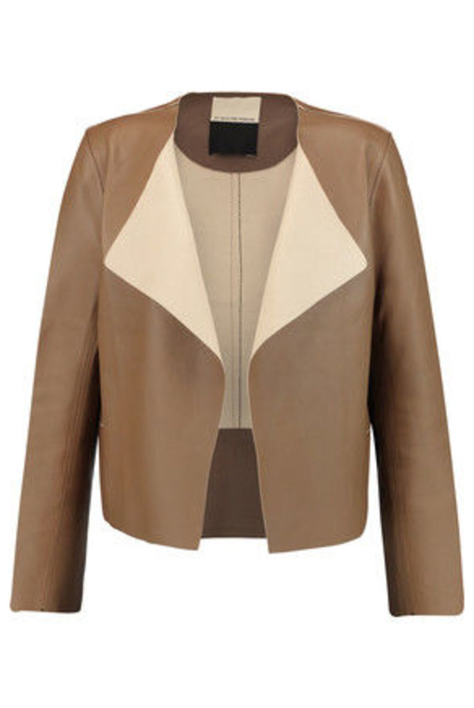 By Malene Birger - Chile Leather Jacket - Light brown