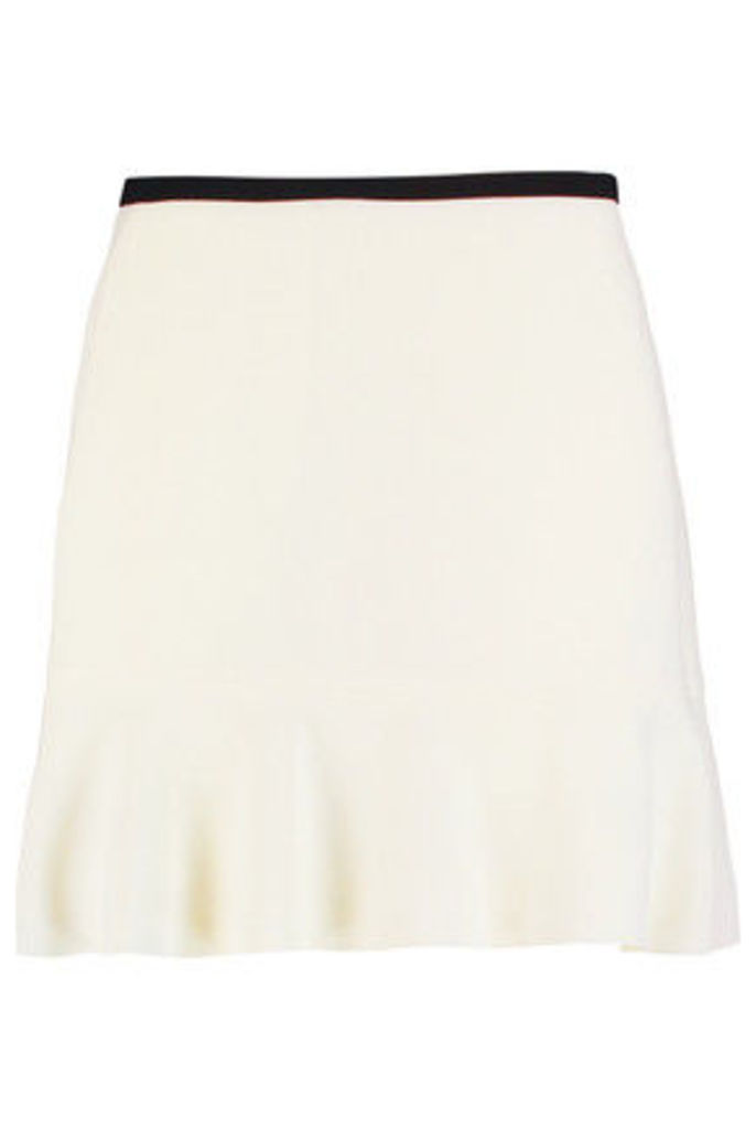 See by Chloé - Crepe Mini Skirt - Off-white