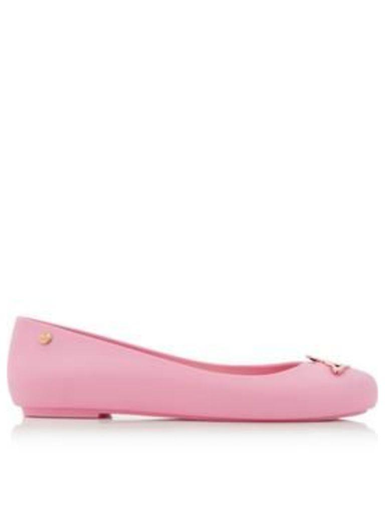 Melissa Vivienne Westwood Space Love Orb Flats - Pink