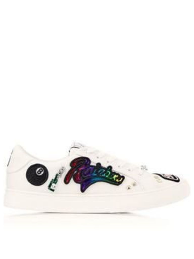 Marc Jacobs Empire Lace Up Sneakers - White