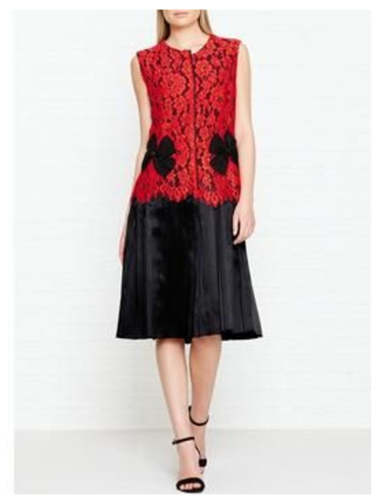 Marc Jacobs Sleeveless Lace Dress - Red