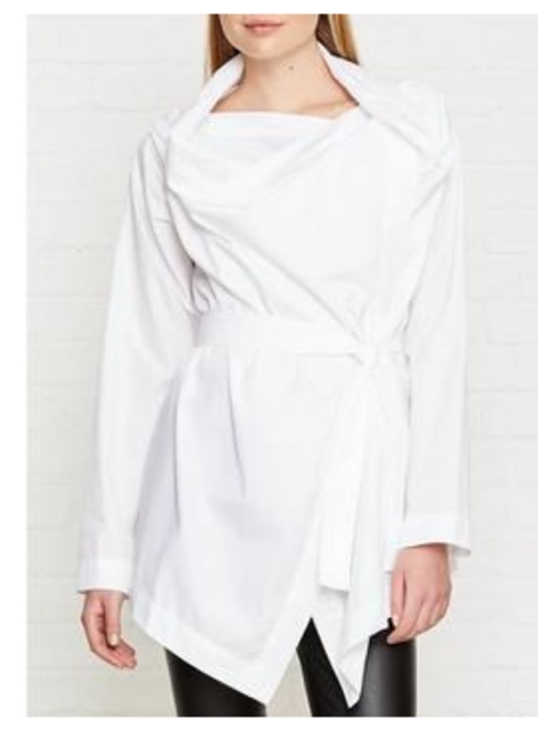 Vivienne Westwood Anglomania Square Blouse - White