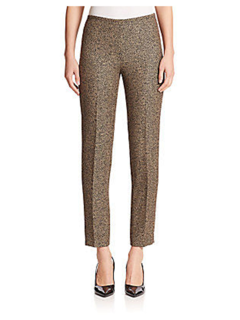 Houndstooth Jacquard Pants