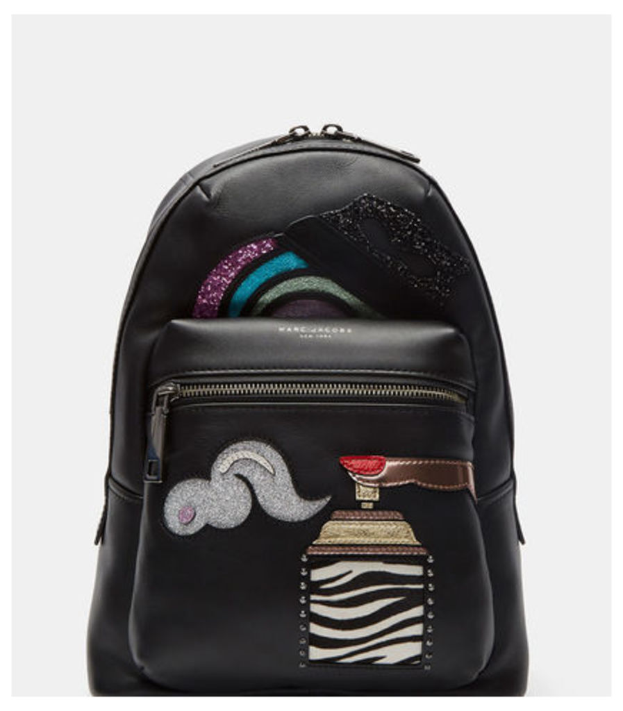 Sequin Patched Backpack