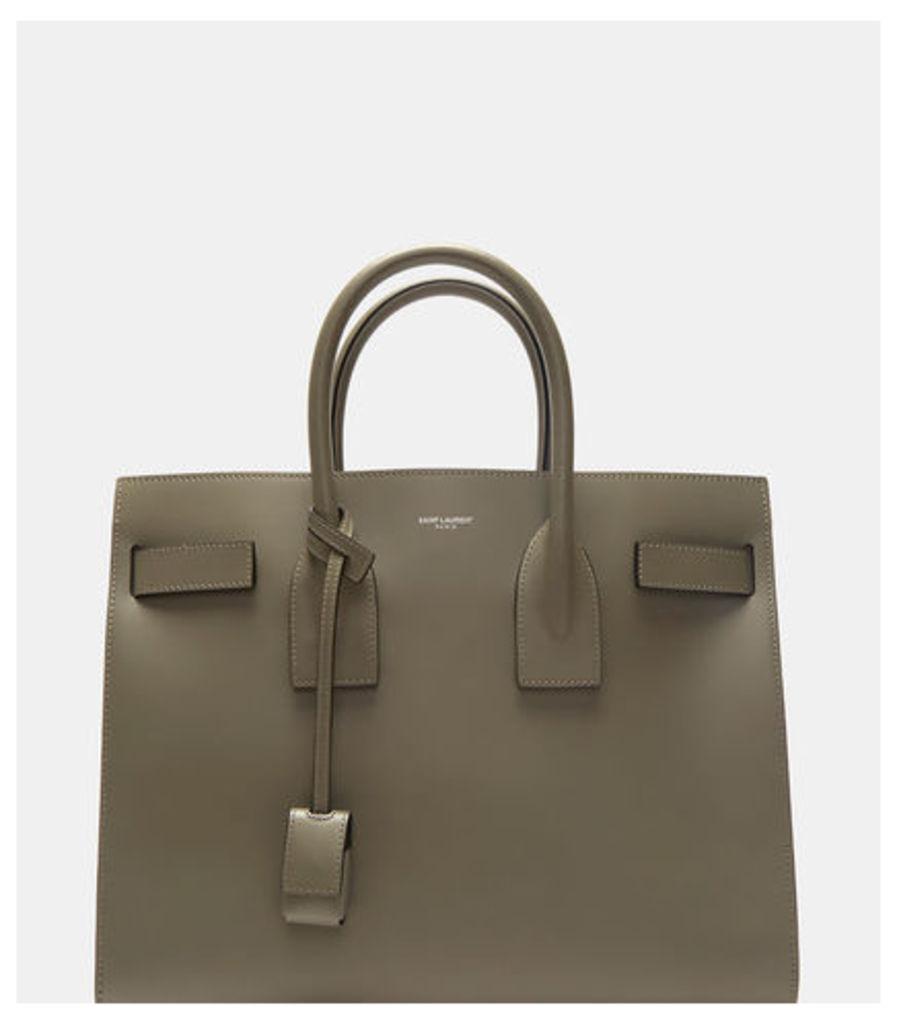 Classic Medium Leather Sac de Jour Handbag