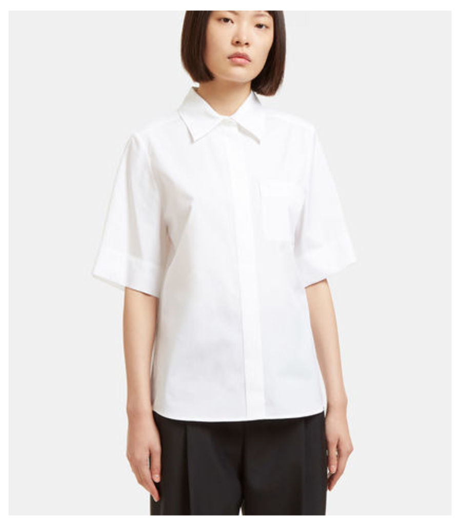 Embroidered Short Sleeved Shirt