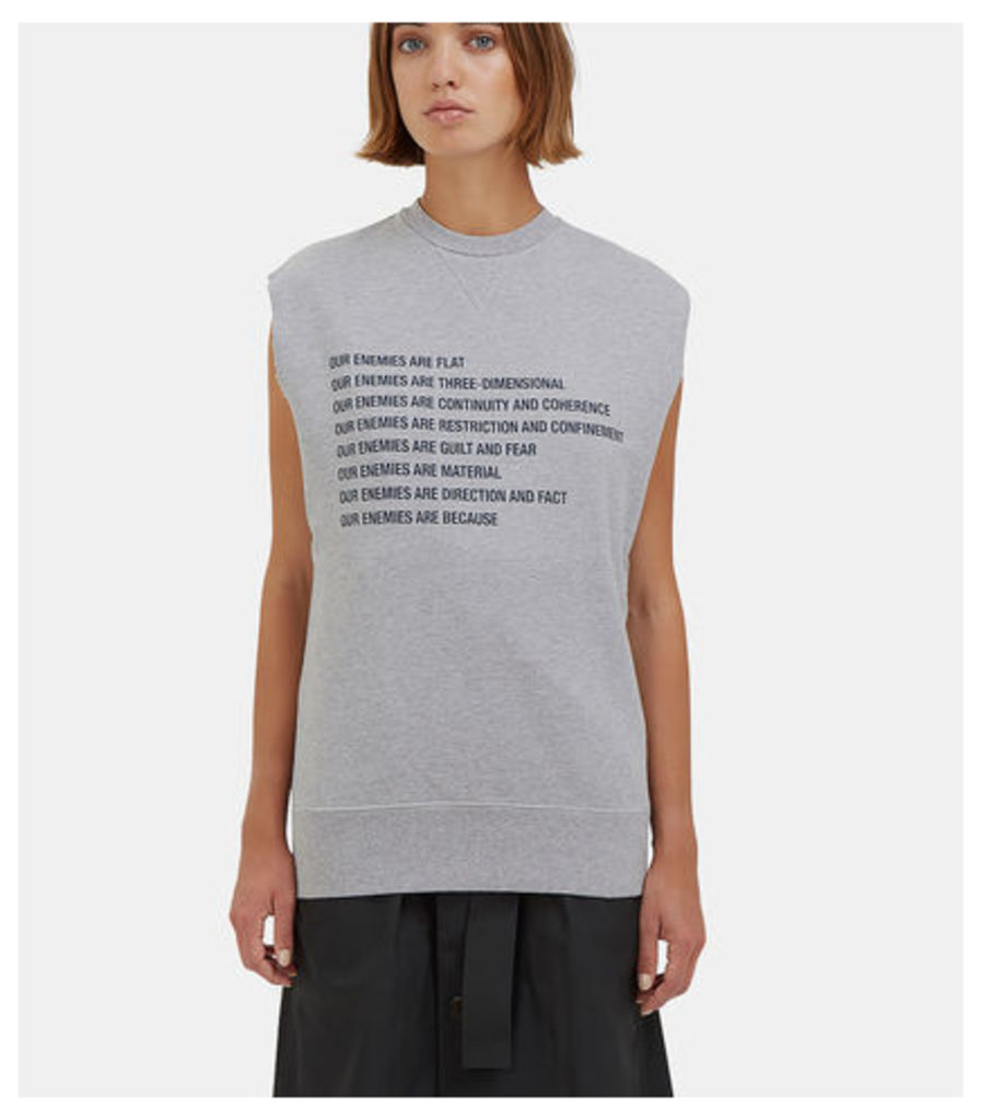 Our Enemies Sleeveless Sweater