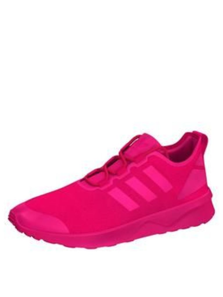 adidas Originals ZX Flux Adv Verve Shoe - Pink, Pink, Size 4, Women