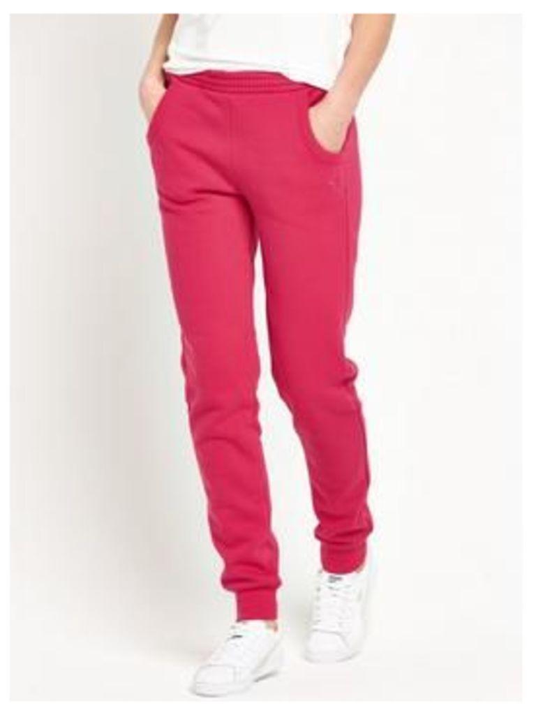 Puma Essentials Sweat Pants, Pink, Size Xxs, Women