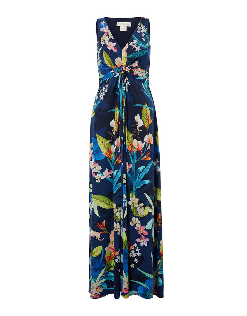 Camille Floral Maxi Dress