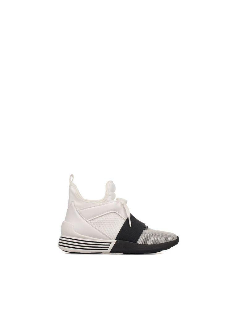 White Braydin Slip On High-top Sneakers