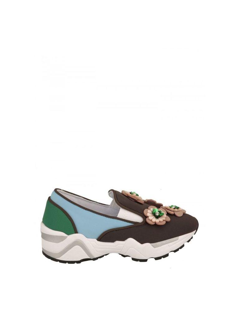 Suecomma Bonnie Technical Fabric Slip-on Sneakers