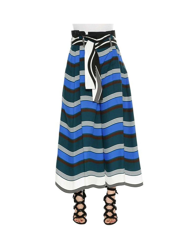 Fendi Color Block 'magnetic Waves' Trousers