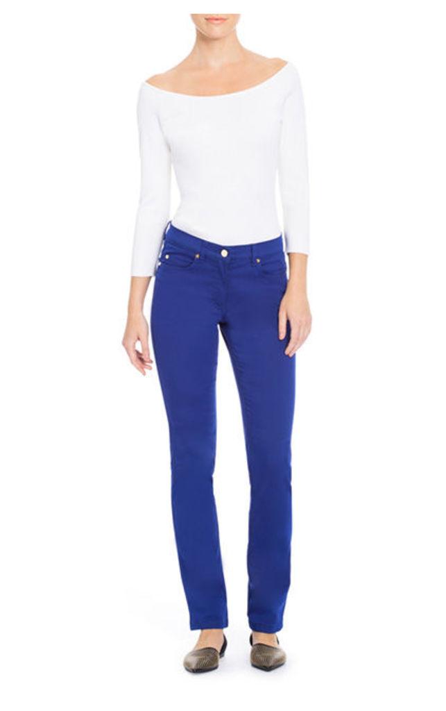 ESCADA 5-pocket pants J223 Blue