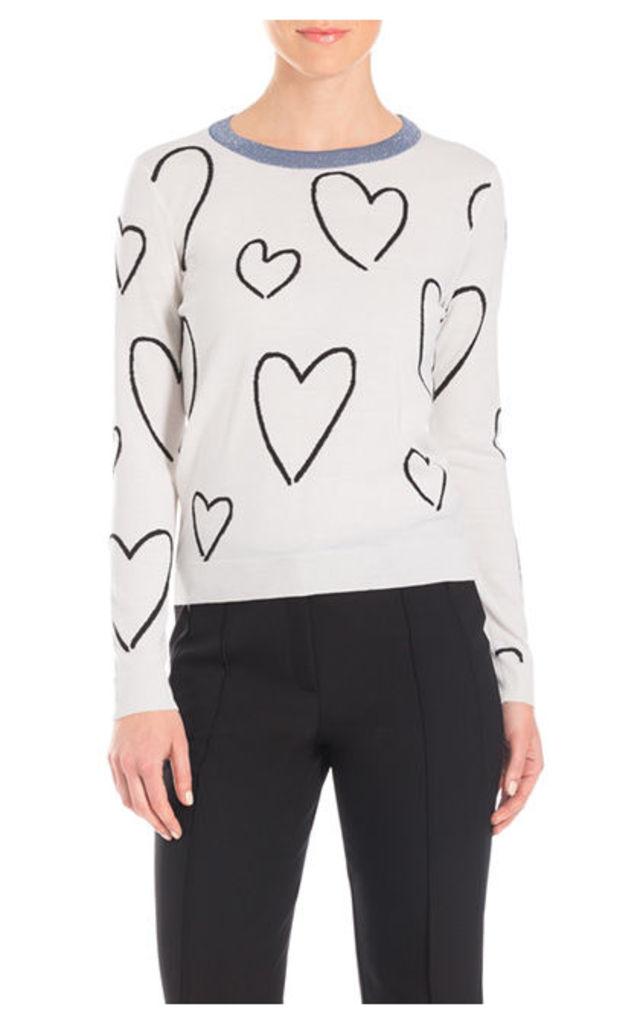 ESCADA Pullovers Say White