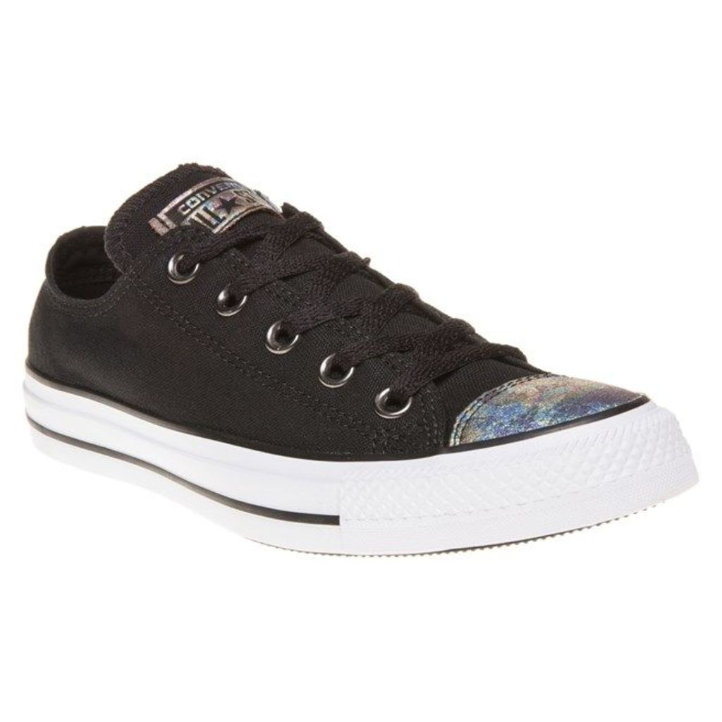 Converse All Star Ox Trainers, Black/White