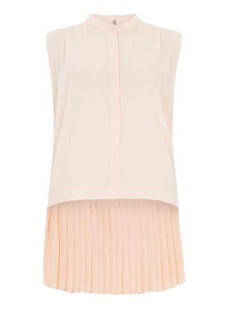 Collection Pink Pleat Shirt, Pink
