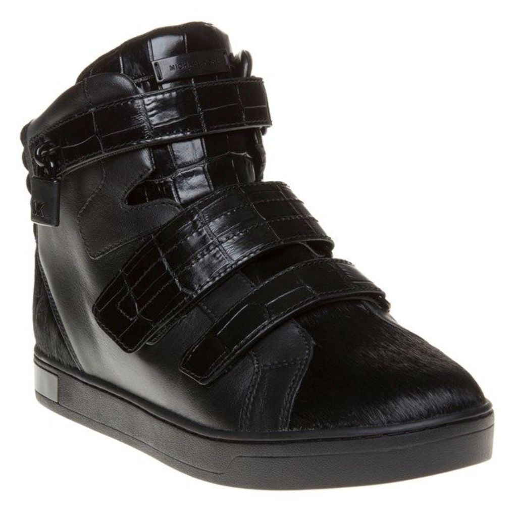 Michael Kors Randi High Top Trainers, Black