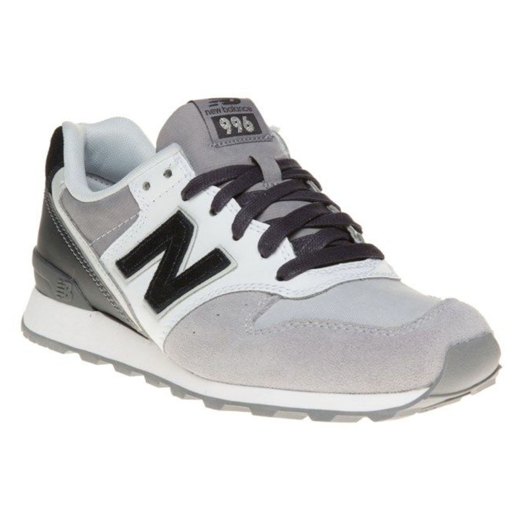 New Balance 996 Trainers, Grey/White