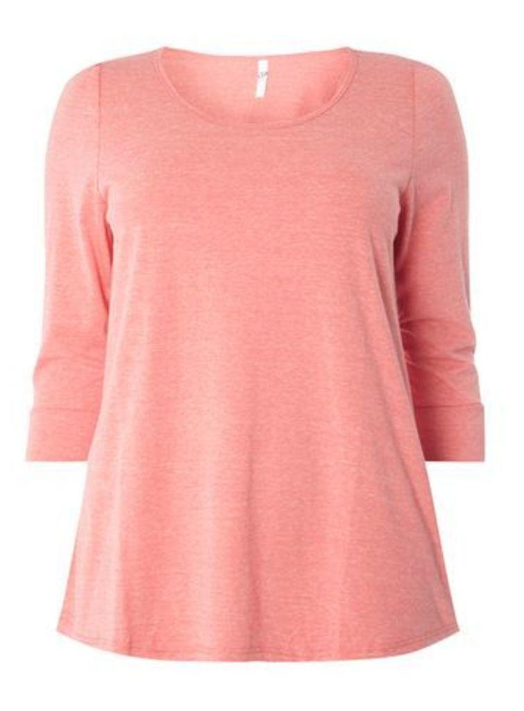 Pink 3/4 Sleeve Top, Pink