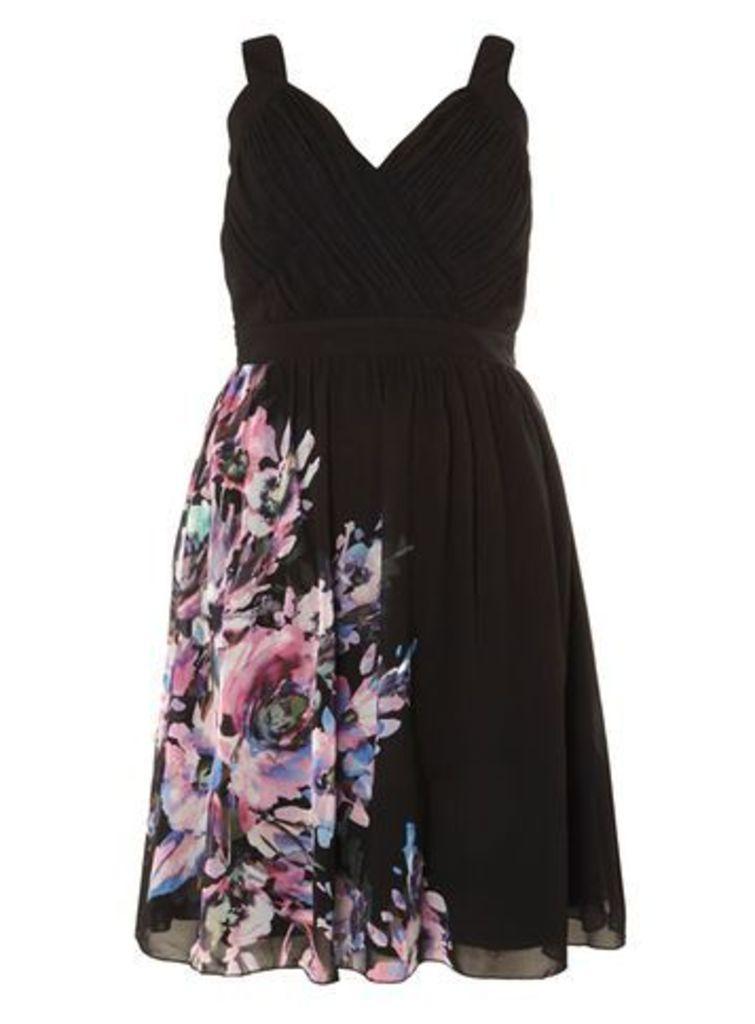 Little Mistress Floral Dress, Colour Print
